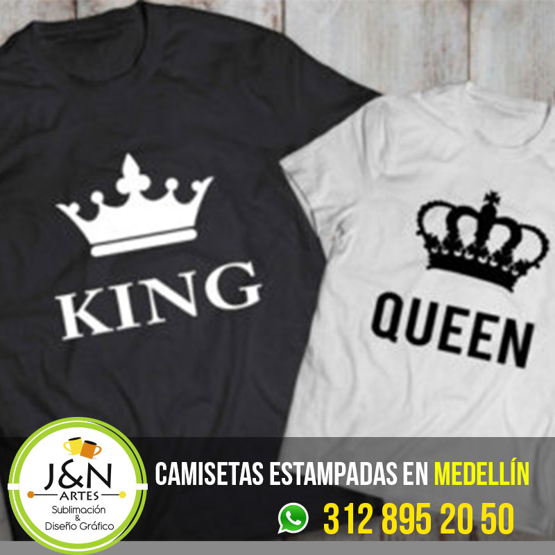 Camiseta-King-Queen-medellin