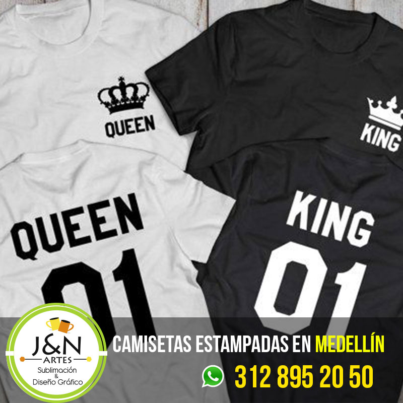 Camisetas-Novios-King-Queen-en-Medellin
