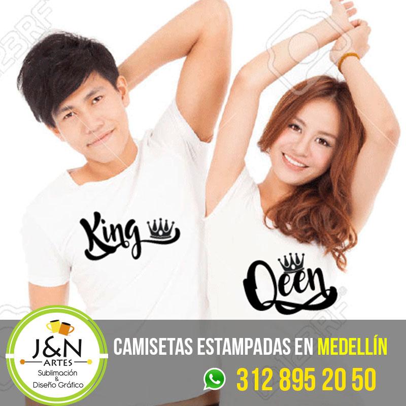Camisetas-Novios-King-Quenn-Medellin