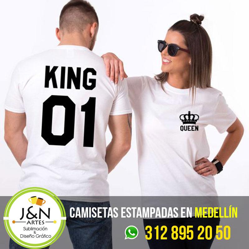Camisetas-parejas-King-Queen-en-medellin