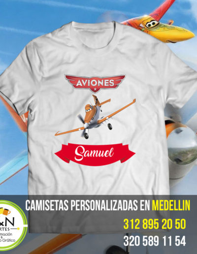 Personalizar Camiseta Medellin