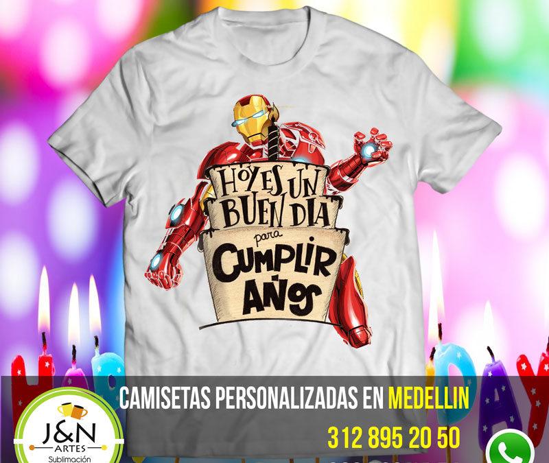 Camisetas de Cumpleaños Para Niños en Medellin