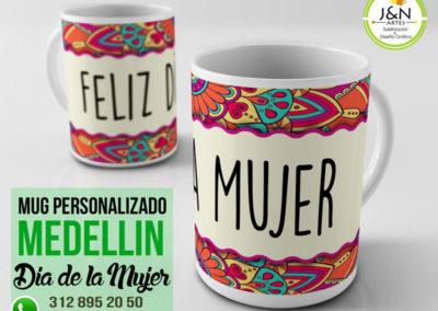 Mug Dia de la Mujer en Medellin