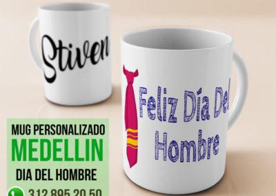 Mug dia del Hombre en Medellin