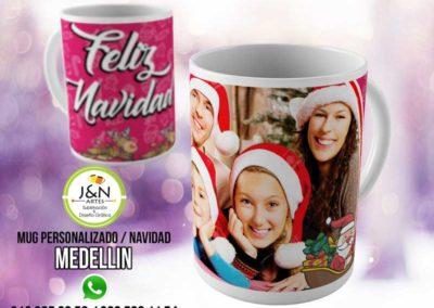 Mug Navidad en Medellin