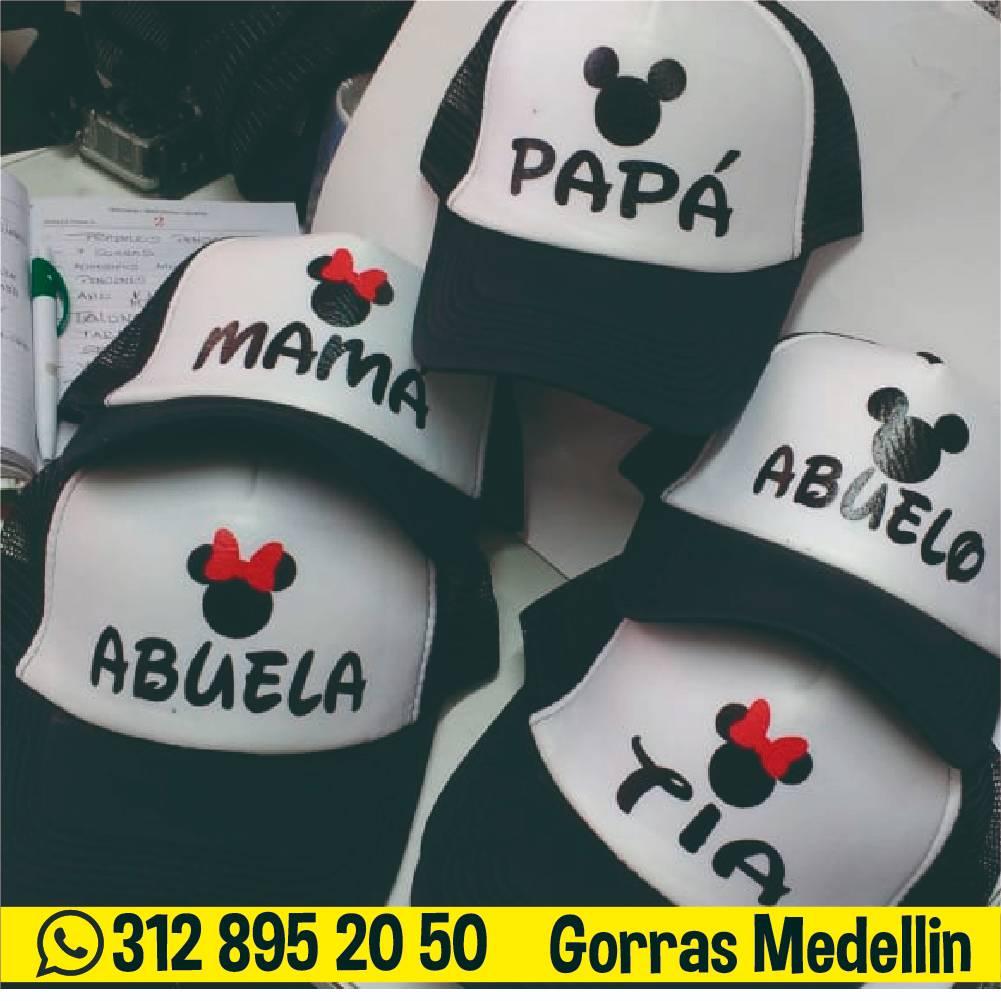 Gorras personalizadas en medellin al por mayor familiares